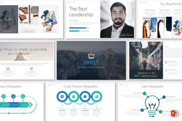 SIMPLY - Powerpoint Template