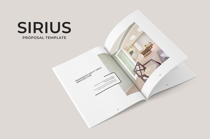 Sirius Proposal Template