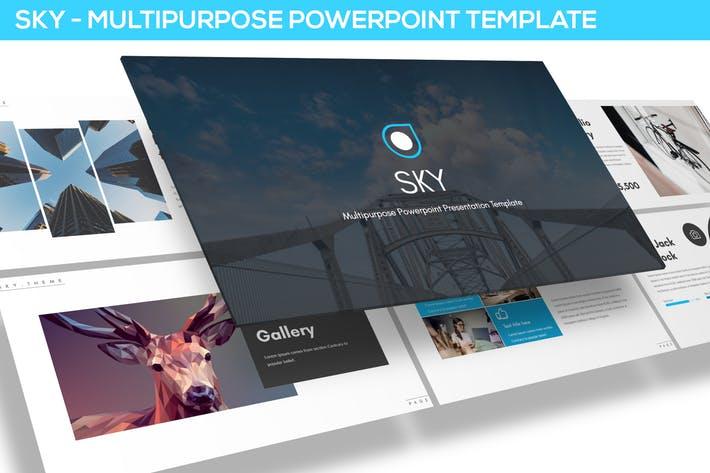 Sky - Multipurpose Powerpoint Template