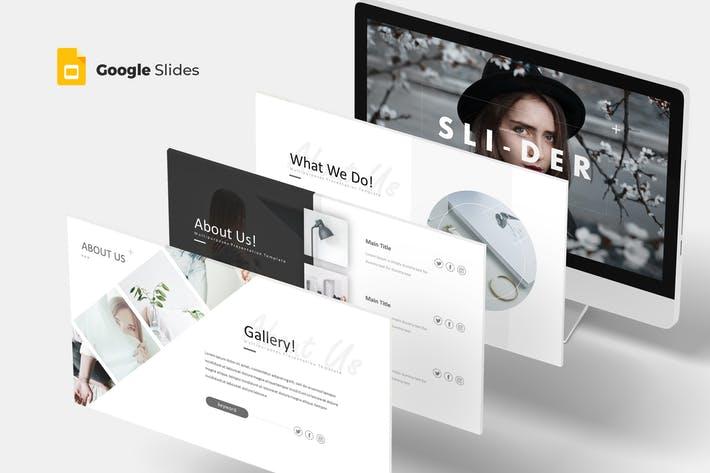 Slider - Google Slides Template