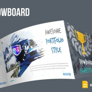 Snowboard Google Slides Template
