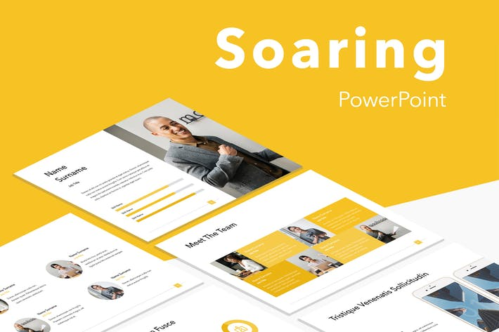 Soaring PowerPoint Template