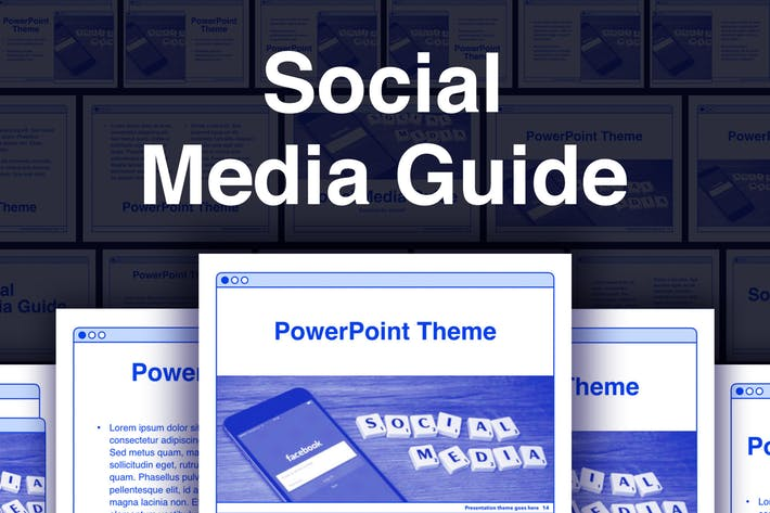 Social Media Guide PowerPoint Template