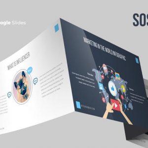Sosmed Google Slides Template