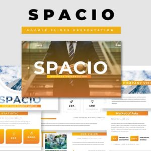 Spacio Google Slides Presentation