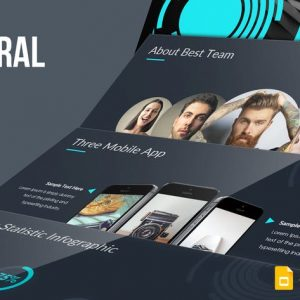 Spiral Google Slides Template