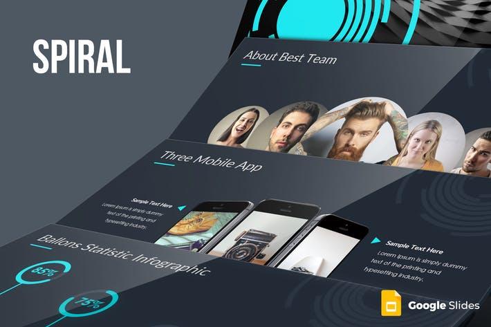 Spiral Google Slides Template