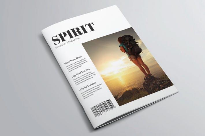 Spirit Magazine Templete