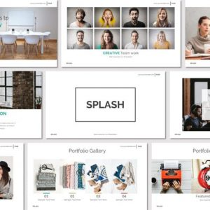 SPLASH - Powerpoint Template