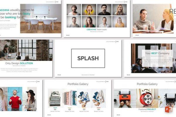 SPLASH - Powerpoint Template