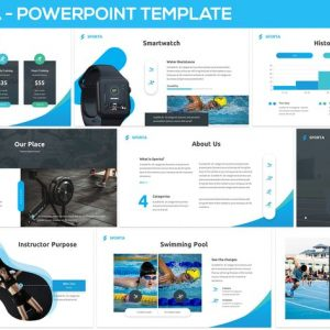 Sporta - Powerpoint Presentation Template