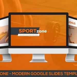 Sportzone - Modern Google Slides Template