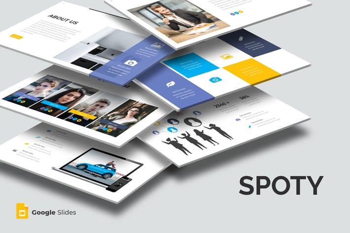 Spoty - Goolge Slides Template
