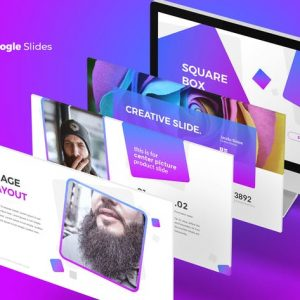 SquareBox - Google Slides Template