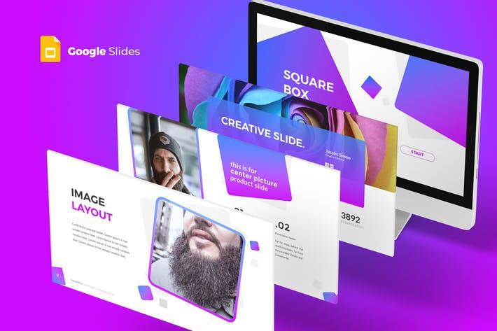 SquareBox - Google Slides Template