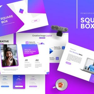 SquareBox - Powerpoint Template