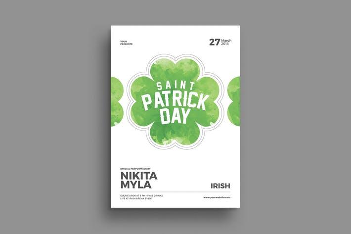 St Patrik Day Flyer