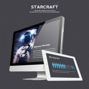 Starcraft Google Slides Template