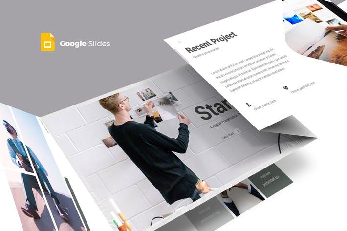 Startup - Google Slides Template