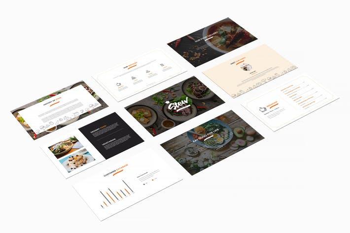 Stew : Food Presentation Google Slides Template