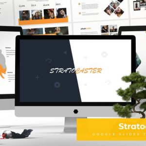 Stratocaster - Google Slides Template