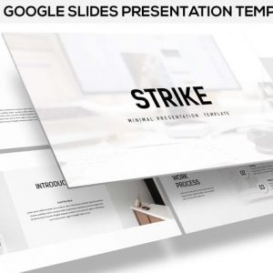 Strike - Minimal Google Slides Template