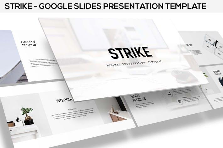 Strike - Minimal Google Slides Template
