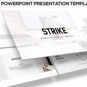 Strike - Minimal Powerpoint Template