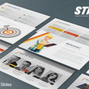 Strix - Google Slides Template