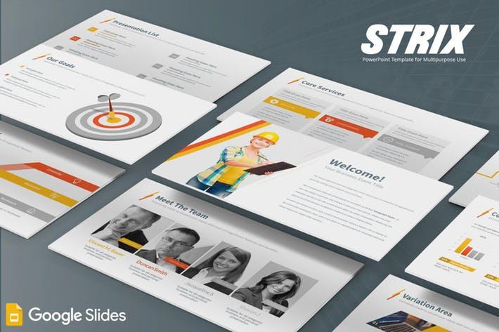 Strix - Google Slides Template