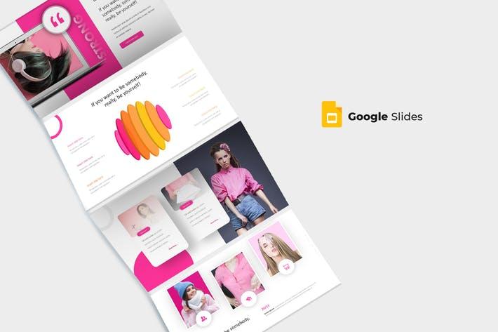 Stronger - Google Slides Template