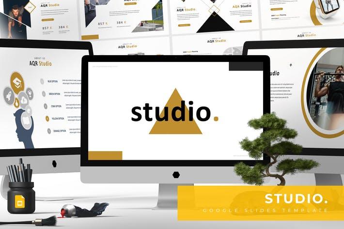 Studio - Google Slides Template