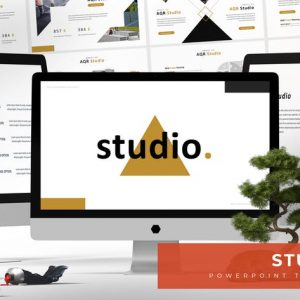Studio - Powerpoint Template