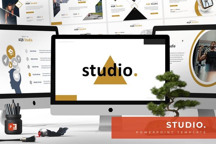 Studio - Powerpoint Template