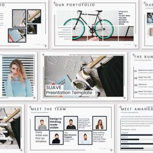 Suave - Powerpoint Template