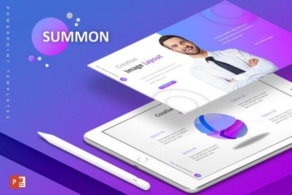 Summon - Powerpoint Template