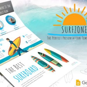 Surfzone - Google Slides Template