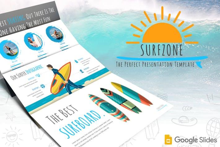 Surfzone - Google Slides Template