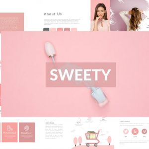 SWEETY Powerpoint Template