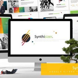 Syhntisizer - Google Slides Template
