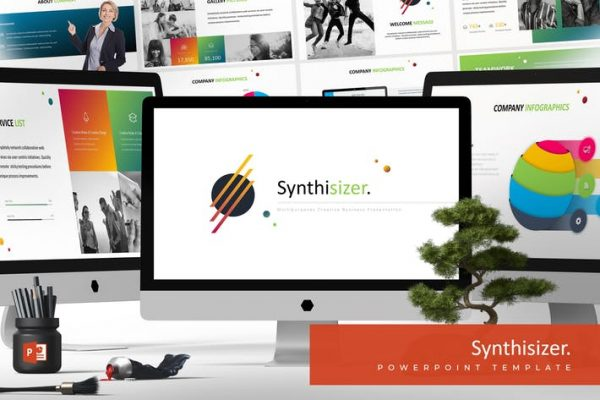 Syhntisizer - Powerpoint Template