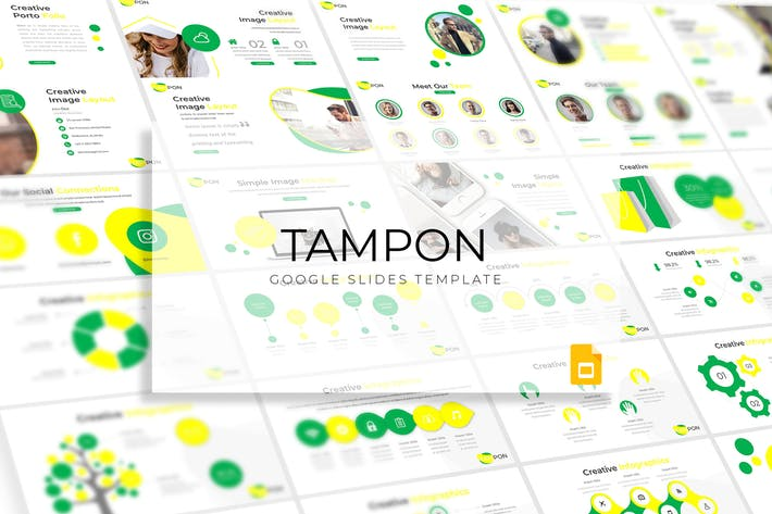 Tampon - Google Slide Template