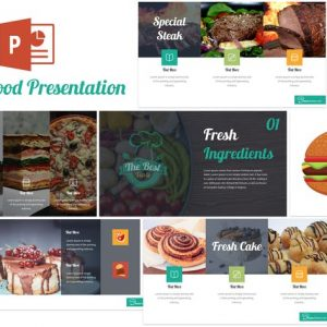 Taste - Food Powerpoint Template