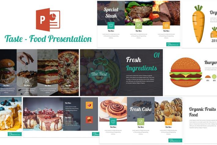 Taste - Food Powerpoint Template