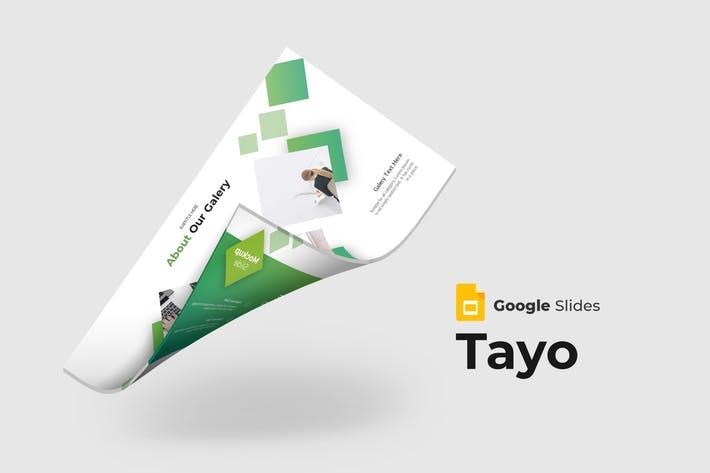 Tayo - Google Slides Template