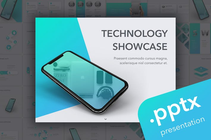 Technology Showcase PowerPoint Template