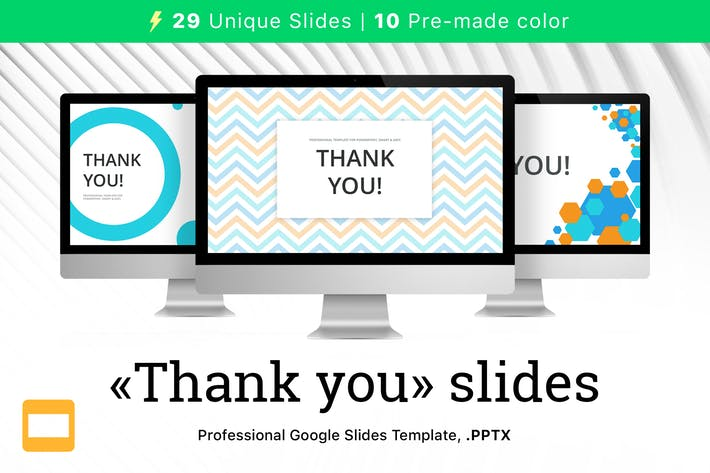 Thank you Slides for Google Slides