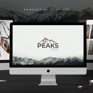 The Peaks - Powerpoint Template