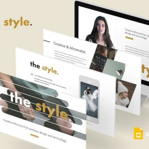 The Style - Google Slides Template