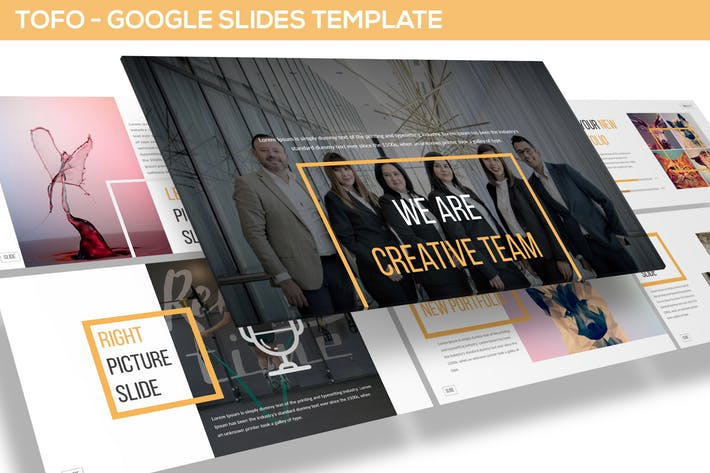 Tofo - Multipurpose Google Slides Template